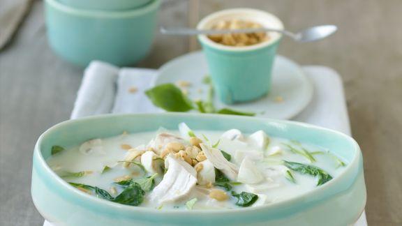 Rezept: Thailändische Hühnersuppe