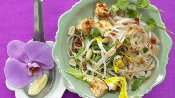 Rezept: Thailändische Reisnudelpfanne