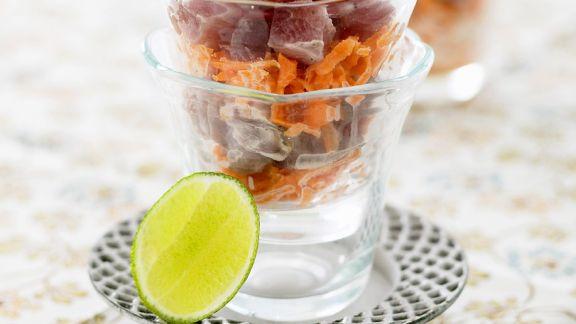 Rezept: Thunfisch-Möhrensalat