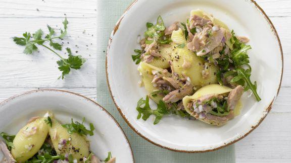 Rezept: Thunfisch-Zitronen-Pasta