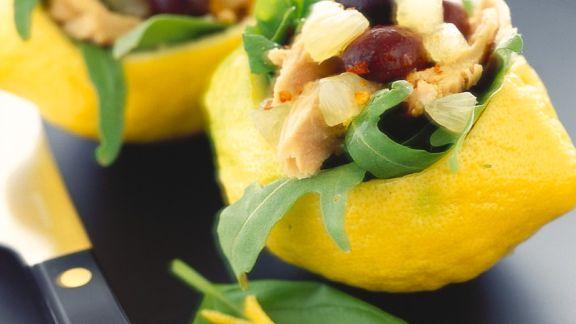 Rezept: Thunfisch-Zitronensalat
