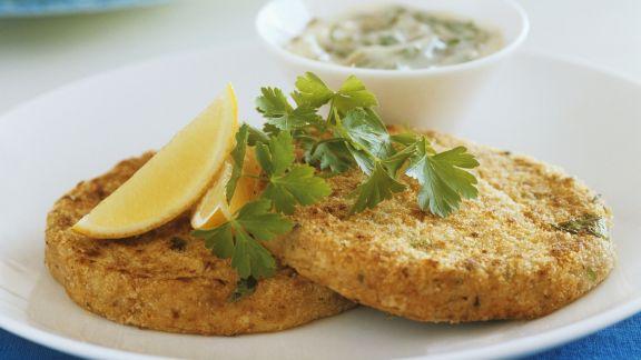 Rezept: Thunfischfrikadellen mit Remoulade