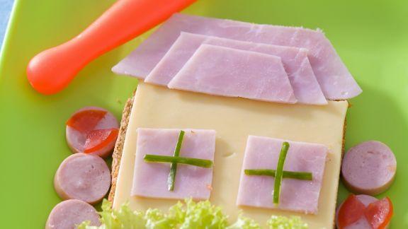 Rezept: Toast mit Schinken und Käse