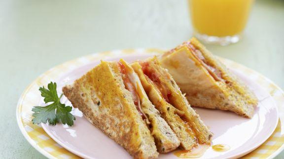 Rezept: Toast-Sandwiches