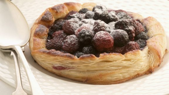 Rezept: Törtchen mit Schoko-Beeren