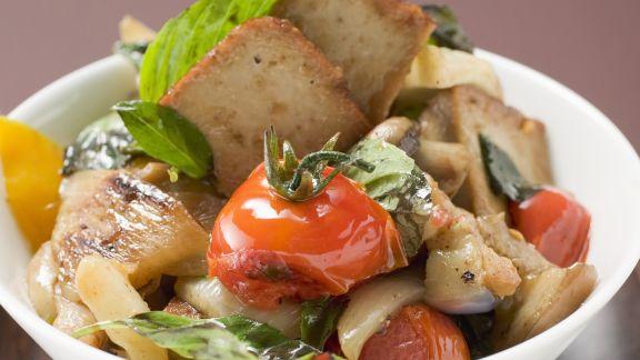 Rezept: Tofu-Gemüse-Pfanne