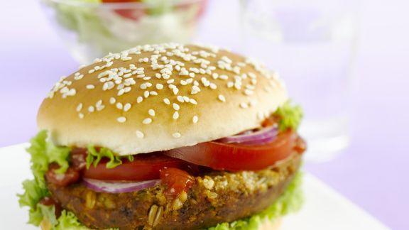 Rezept: Tofu-Mais-Burger