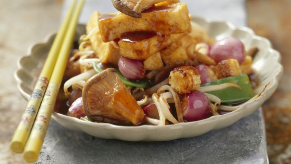 Rezept: Tofu mit Gemüse