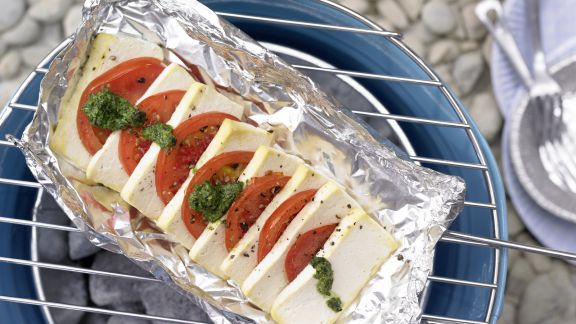 Rezept: Tofu-Tomaten-Pfännchen