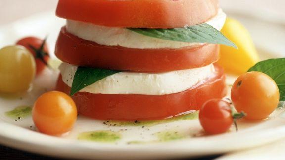 Rezept: Tomate-Mozzarella