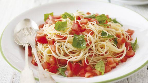 Rezept: Tomaten-Basilikum-Pasta