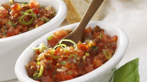 Rezept: Tomaten-Basilikum-Paste