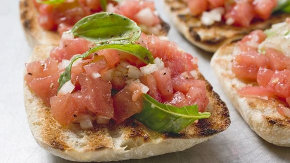 Rezept: Tomaten-Bruschetta