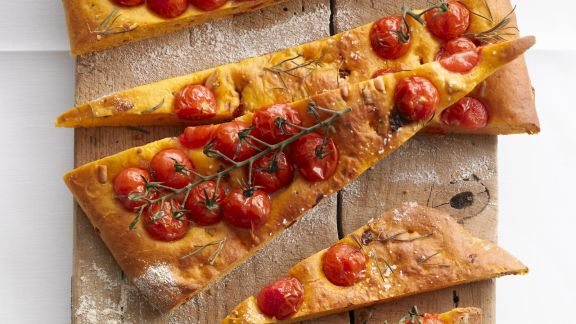 Rezept: Tomaten-Focaccia