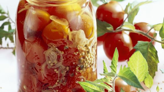 Rezept: Tomaten in Essig-Marinade