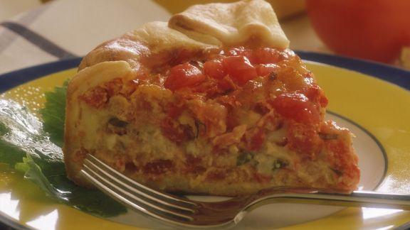 Rezept: Tomaten-Käse-Quiche