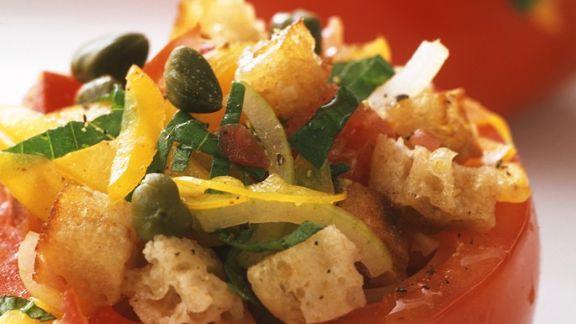 Rezept: Tomaten mit Panzanella
