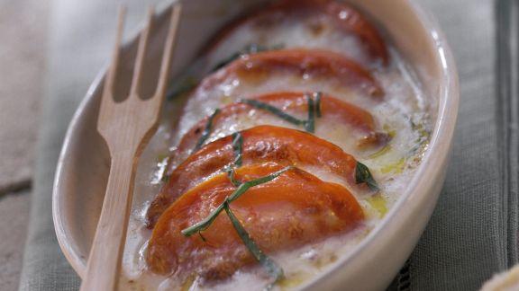 Rezept: Tomaten-Mozzarella-Auflauf