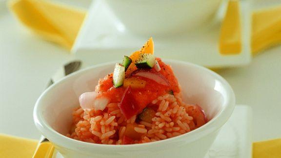 Rezept: Tomaten-Reis