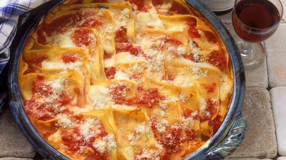 Rezept: Tomaten-Ricotta-Lasagne