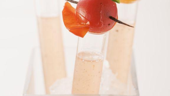 Rezept: Tomatenbrühe mit Vanille