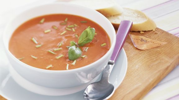 Rezept: Tomatencremesuppe