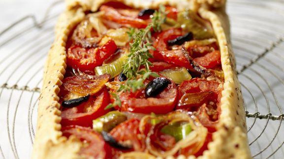 Rezept: Tomatenkuchen