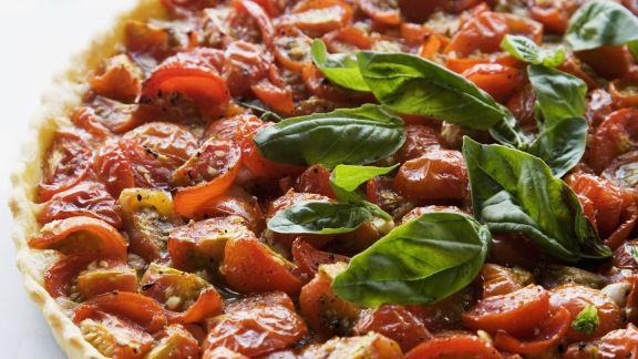Rezept: Tomatenquiche