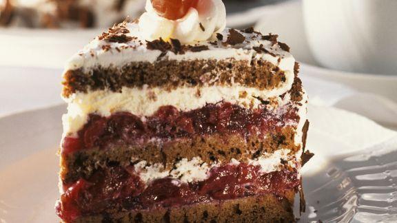 Rezept: Torte Schwarzwälder-Art