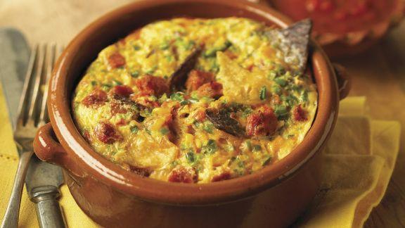 Rezept: Tortilla-Frittata und mexikanischer Salsa