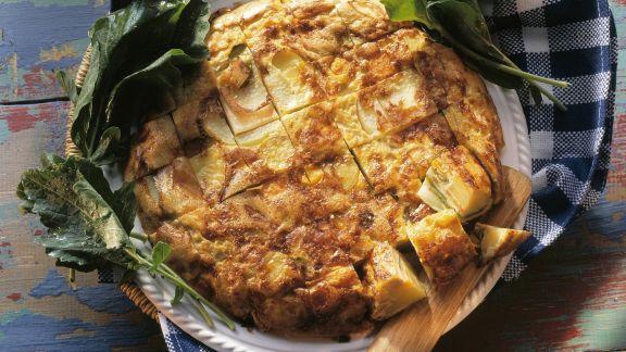 Rezept: Tortilla mit Gemüse