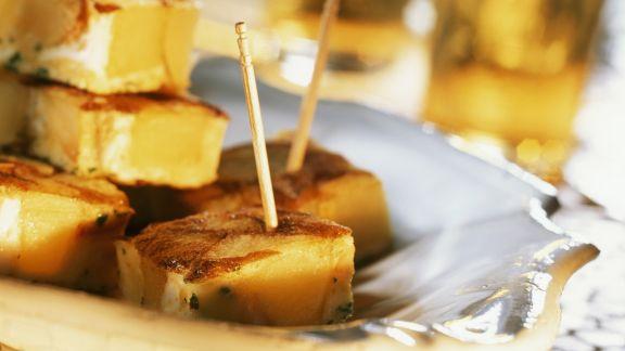 Rezept: Tortilla mit Kartoffel