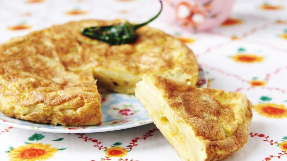 Rezept: Tortilla mit Kartoffeln