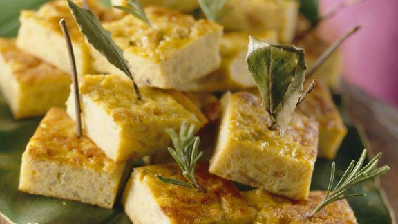 Rezept: Tortilla-Schnittchen