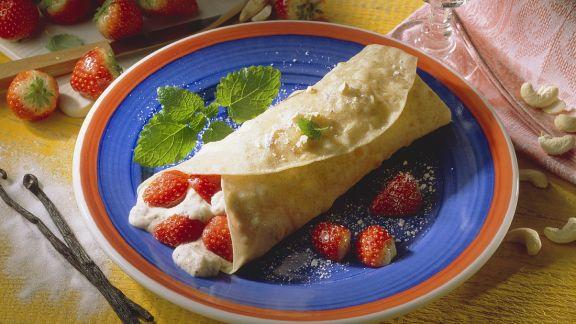 Rezept: Tortillas mit Grießcremefüllung