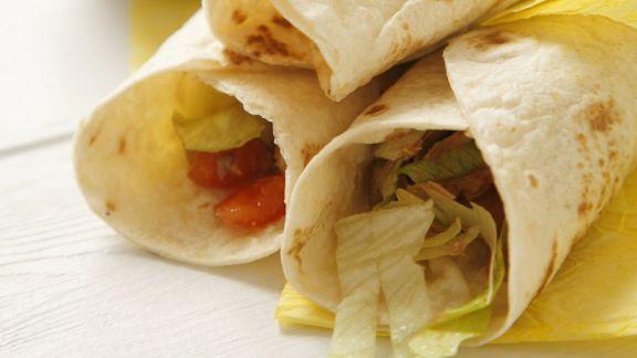 Rezept: Tortillas mit Thunfischsalat-Füllung
