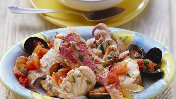 Rezept: Toskanischer Fischtopf