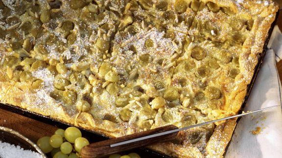 Rezept: Trauben-Blechkuchen