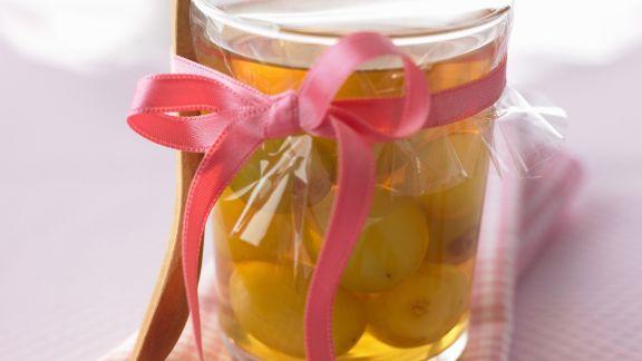 Rezept: Trauben in Armagnac