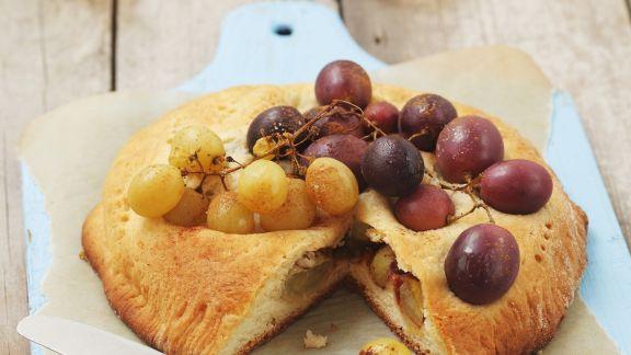 Rezept: Trauben-Küchlein aus Hefeteig