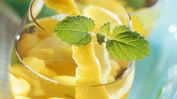 Rezept: Traubenbowle mit Grappa