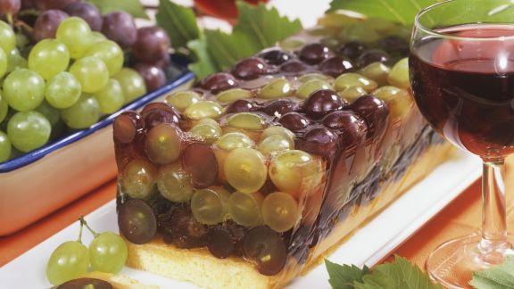Rezept: Traubenkuchen