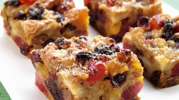 Rezept: Trockenfrüchte-Kuchen