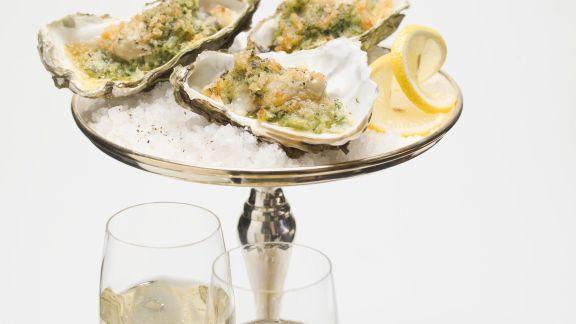 Rezept: Überbackene Austern an Silvester