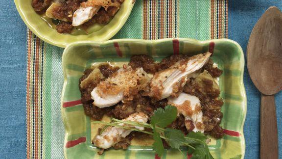 Rezept: Überbackenes Chili-Hähnchen