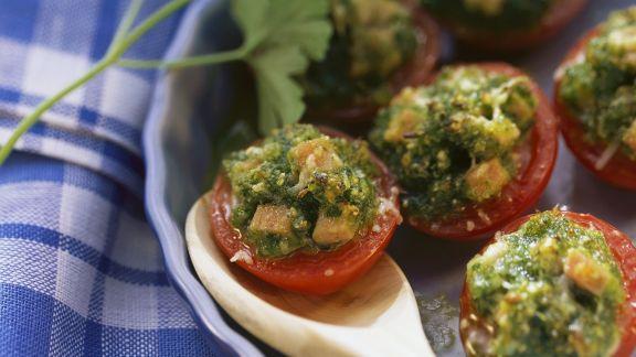 Rezept: Überkrustete Tomaten