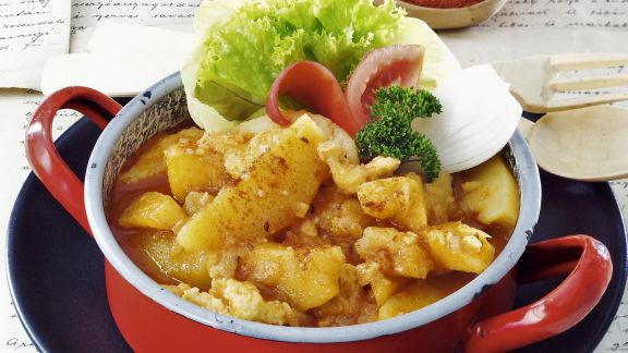 Rezept: Ungarisches Kartoffel-Paprikagemüse