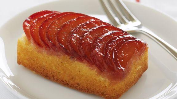 Rezept: Vanillekuchen mit Pflaumen