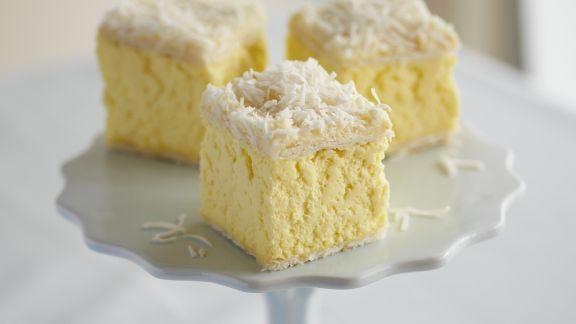 Rezept: Vanillewürfel mit Kokos