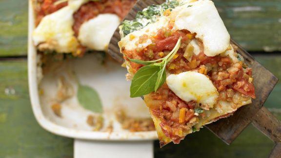 Rezept: Vegetarische Lasagne – smarter